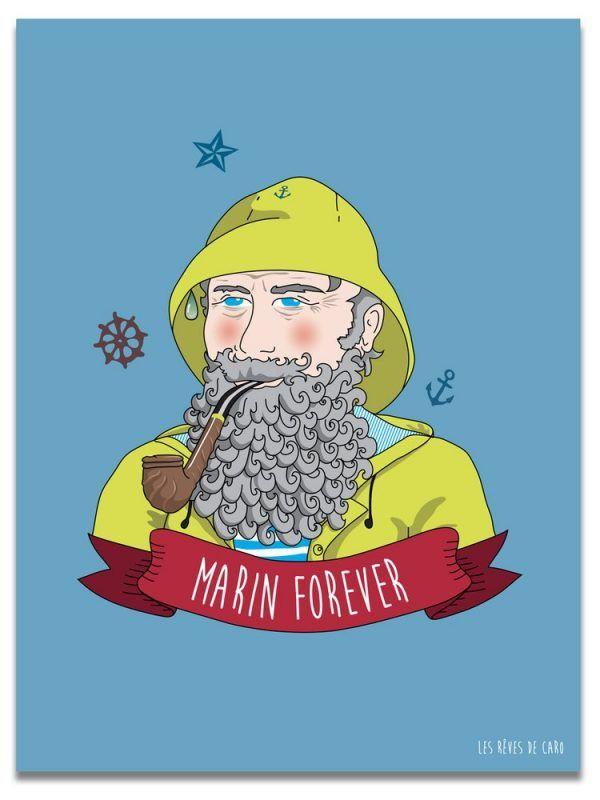 affiche-bretonne-marin-forever-les-reves-de-caro