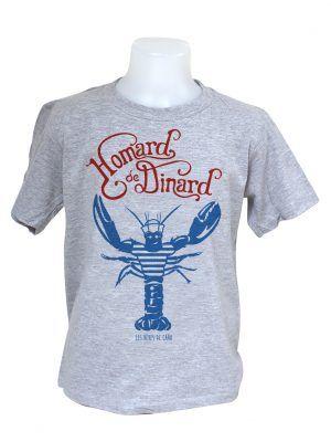 tshirt-enfant-homard-dinard-gris-reves-de-caro