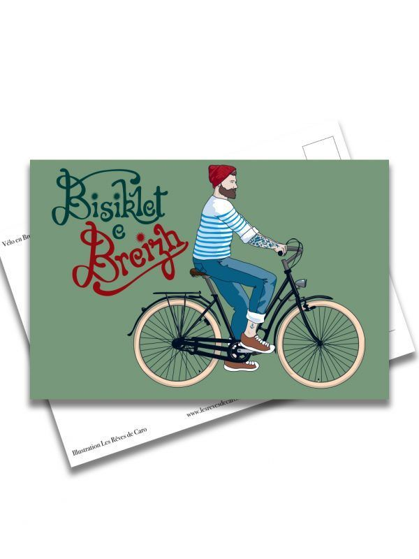 carte-postale-bike-in-bretagne-les-reves-de-caro