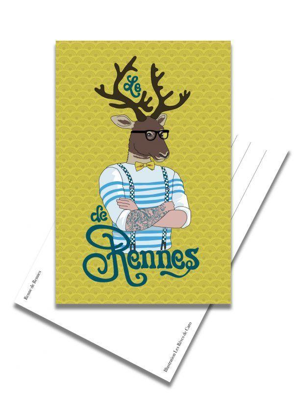 carte-postale-renne-de-rennes-les-reves-de-caro