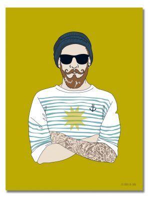 affiche-hipster-breton-les-reves-de-caro