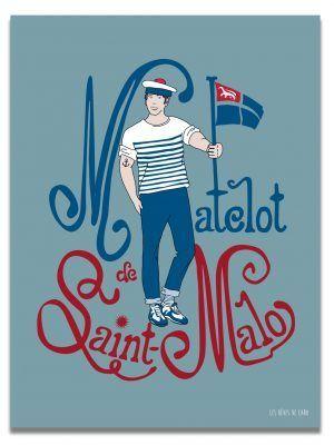 affiche-matelot-saint-malo-les-reves-de-caro