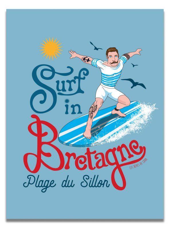 affiche-surf-saint-malo-les-reves-de-caro