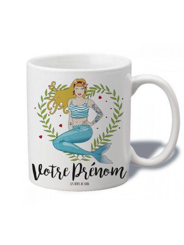 tasse-sirene-blonde-votre-prenom-reves-de-caro