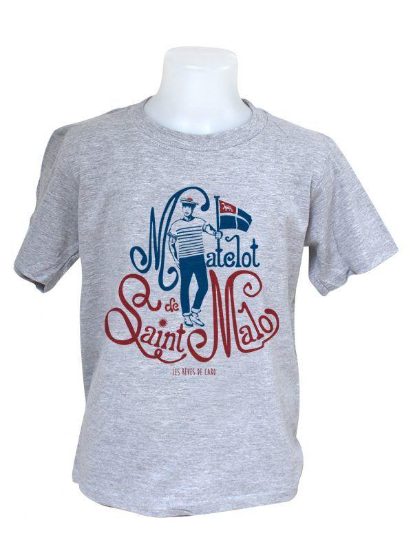 tshirt-enfant-matelot-saint-malo-gris-reves-de-caro