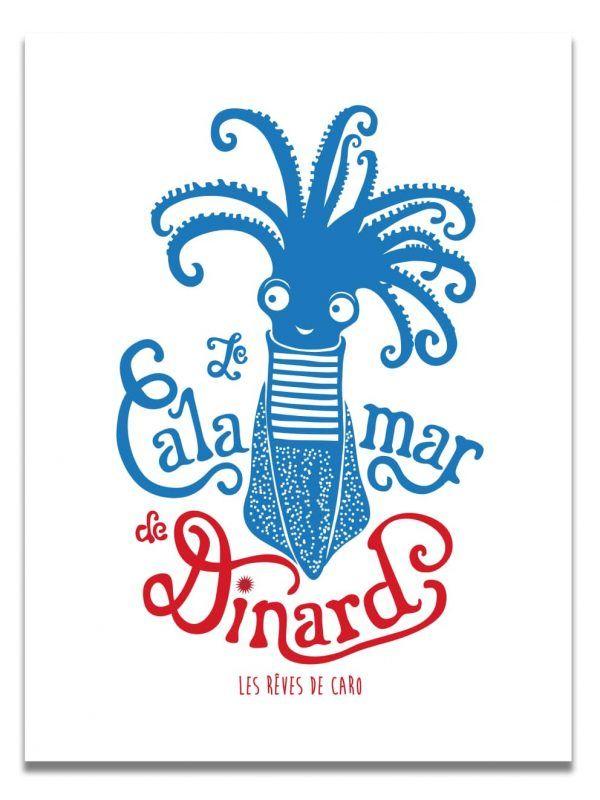 affiche-calamar-dinard-bleu-et-rouge-les-reves-de-caro