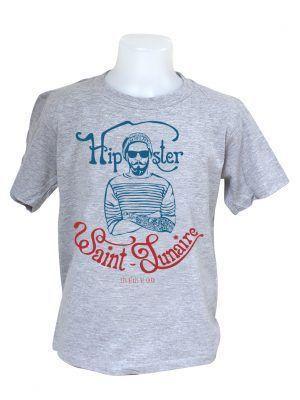 tshirt-enfant-hipster-saint-lunaire-gris-reves-de-caro