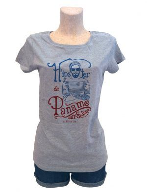 tshirt-femme-hipster-paname-gris-reves-de-caro