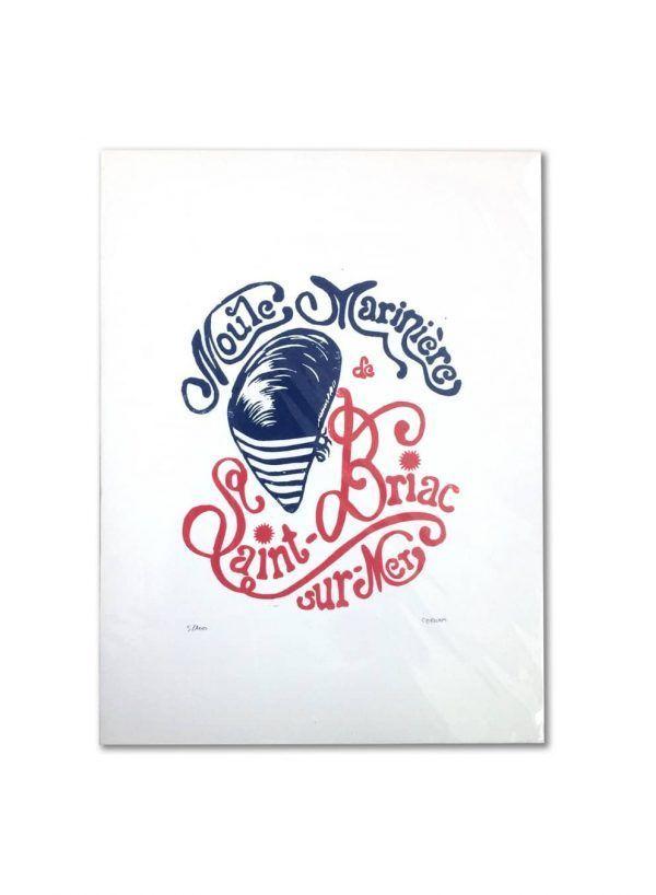 affiche-linogravure-moule-mariniere-bleu-et-rouge-les-reves-de-caro