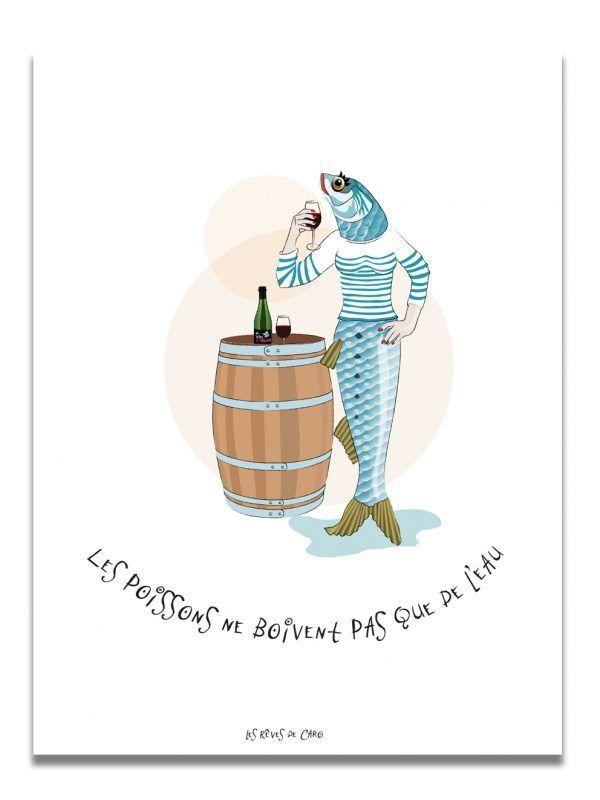 affiche-sardine-vin-les-reves-de-caro