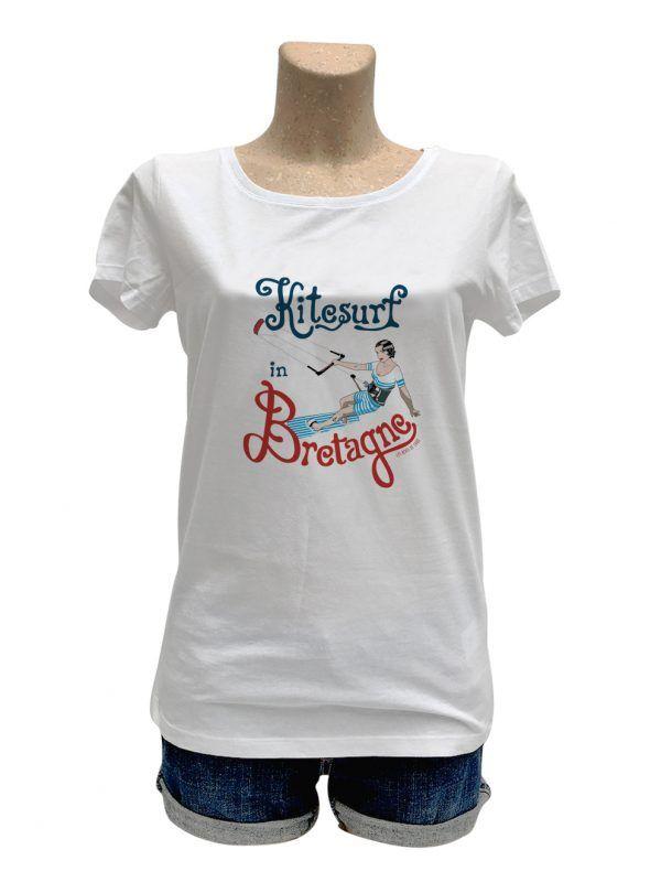 tshirt-femme-nana-kitesurf-in-bretagne-couleur-reves-de-caro