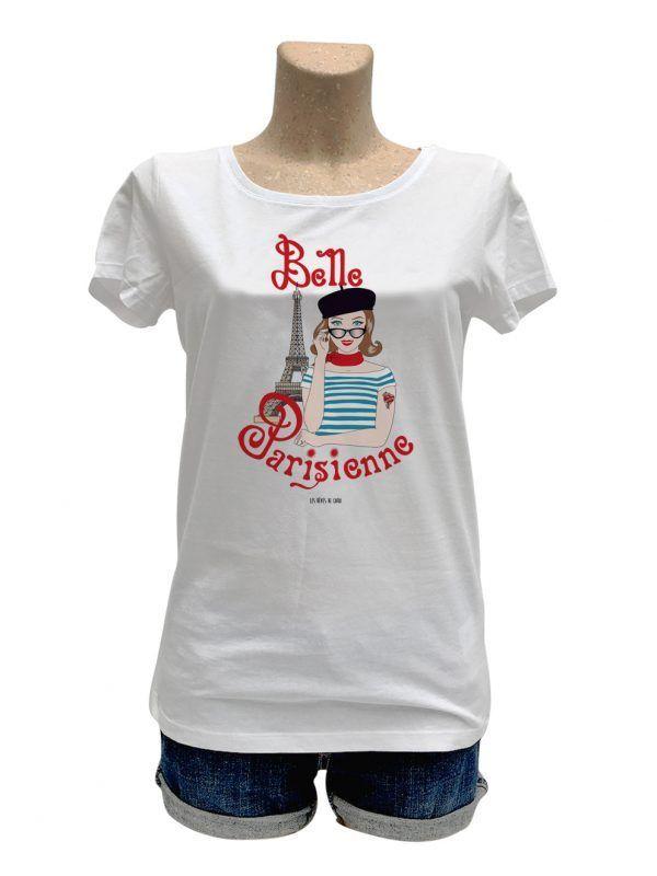 tshirt-femme-paris-parisienne-tour-eiffel-reves-de-caro