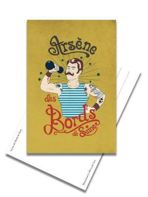 carte-postale-arsene-bord-seine-les-reves-de-caro
