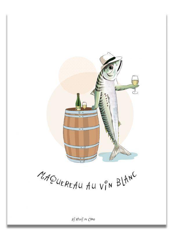 affiche-maquereau-vin-blanc-les-reves-de-caro