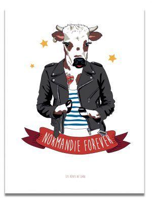 affiche-normandie-forever-les-reves-de-caro