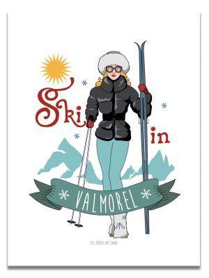 affiche-ski-chic-personnalisable-les-reves-de-caro