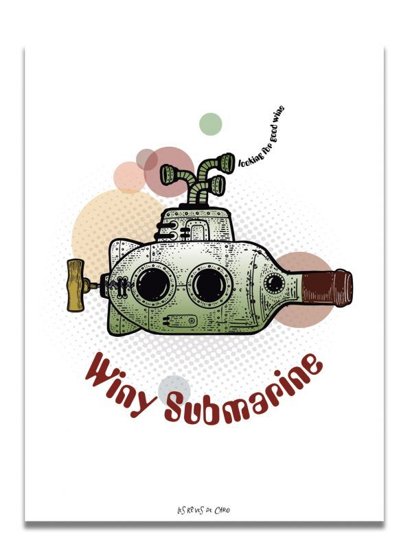 affiche-winy-submarine-les-reves-de-caro
