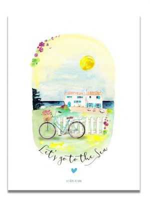 affiche-aquarelle-go-to-the-sea-les-reves-de-caro