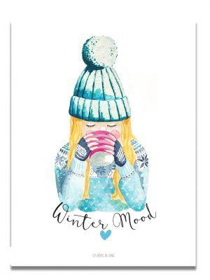 affiche-aquarelle-winter-mood-les-reves-de-caro