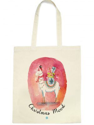 totebag-lama-christmas-mood-les-reves-de-caro