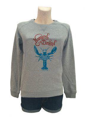 sweat-femme-homard-dinard-reves-de-caro