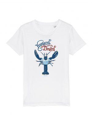tshirt-enfant-homard-dinard-blanc-reves-de-caro
