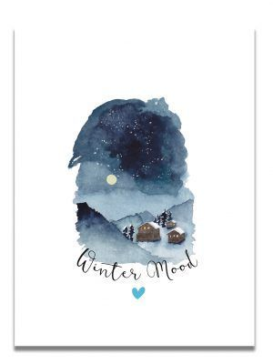 affiche-aquarelle-winter-mood-paysage-les-reves-de-caro