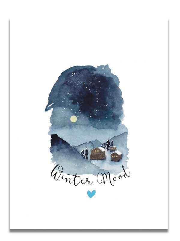 affiche-aquarelle-winter-mood-paysage-les-reves-de-caro