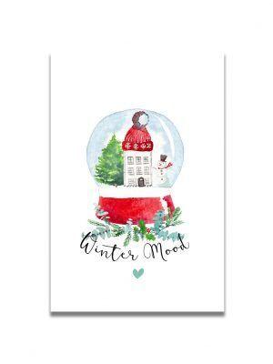 cartes-postales-noel-boule-les-reves-de-caro