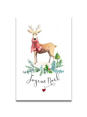 cartes-postales-noel-renne-les-reves-de-caro