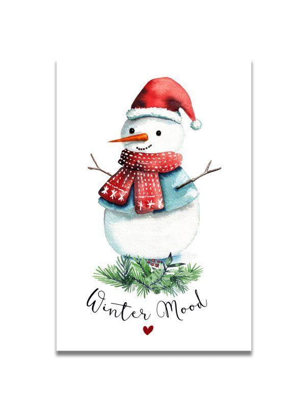 cartes-postales-bonhomme-neige-les-reves-de-caro