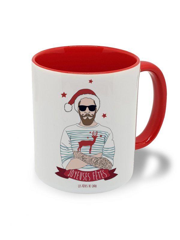 tasse-hipster-noel-rouge-les-reves-de-caro