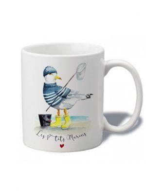 tasse-aquarelle-goeland-ptits-marins-brest-les-reves-de-caro
