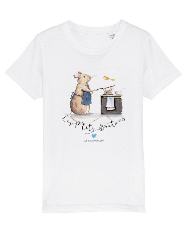tshirt-enfant-blanc-souris-ptits-bretons-reves-de-caro