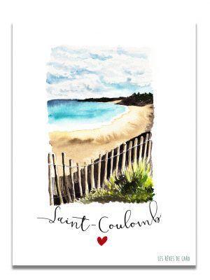 affiche-aquarelle-saint-coulomb-les-reves-de-caro