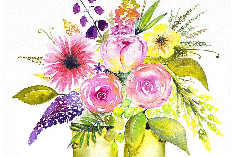 Sur le thème «les fleurs»…