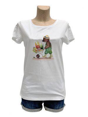 tshirt-femme-ours-brouette-reves-de-caro
