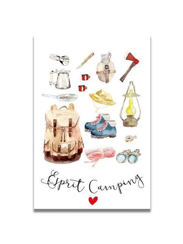 cartes-postales-accessoires-camping-les-reves-de-caro