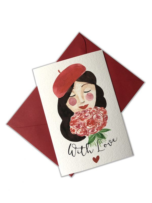 cartes-postales-brune-with-love-brune-enveloppe-les-reves-de-caro