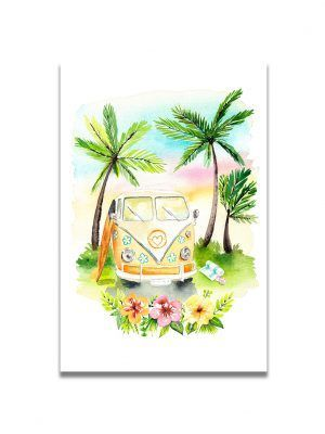 cartes-postales-combi-vacances-les-reves-de-caro