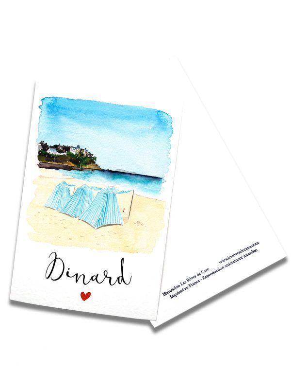 cartes-postales-dinard-cabines-rectoverso-les-reves-de-caro