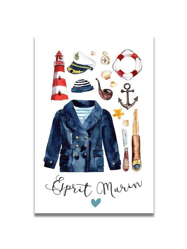 cartes-postales-esprit-marin-les-reves-de-caro
