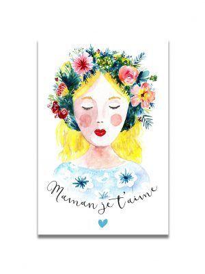 cartes-postales-fete-mere-blonde-les-reves-de-caro