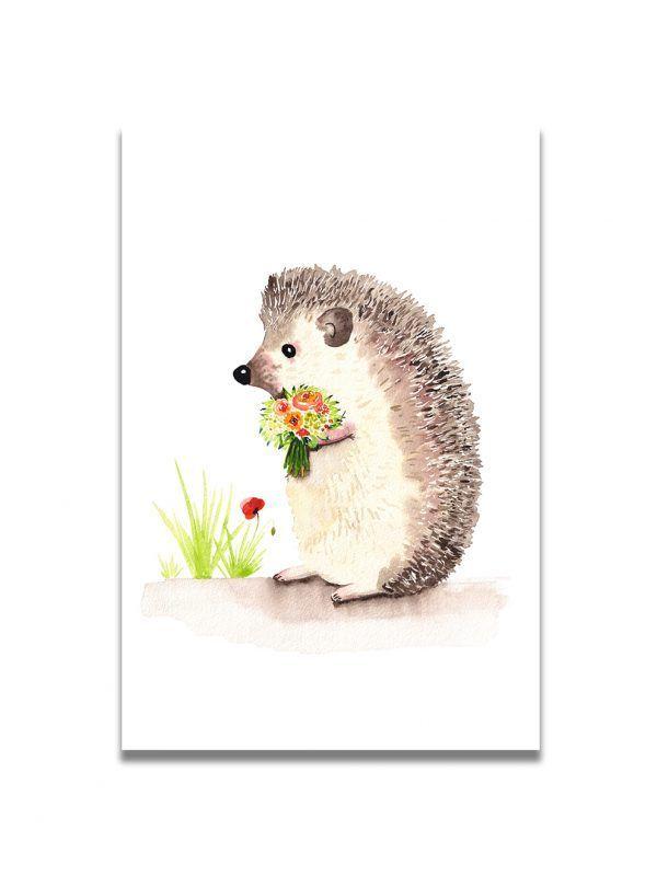 cartes-postales-herisson-les-reves-de-caro
