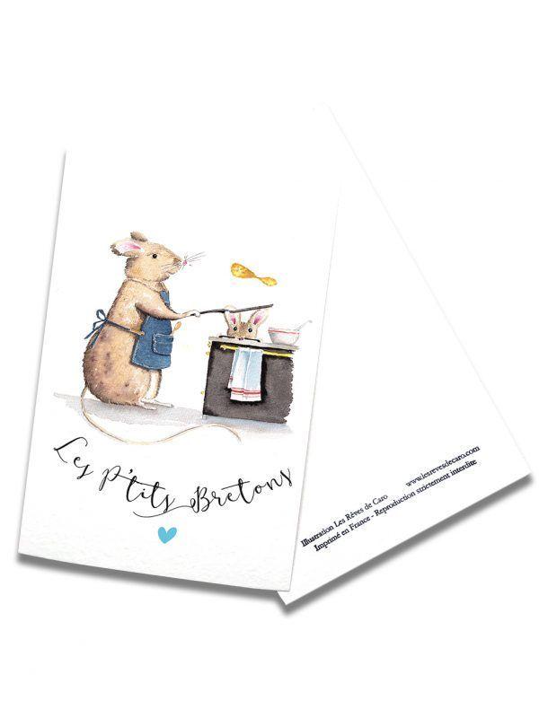 cartes-postales-ptit-bretons-souris-rectoverso-les-reves-de-caro