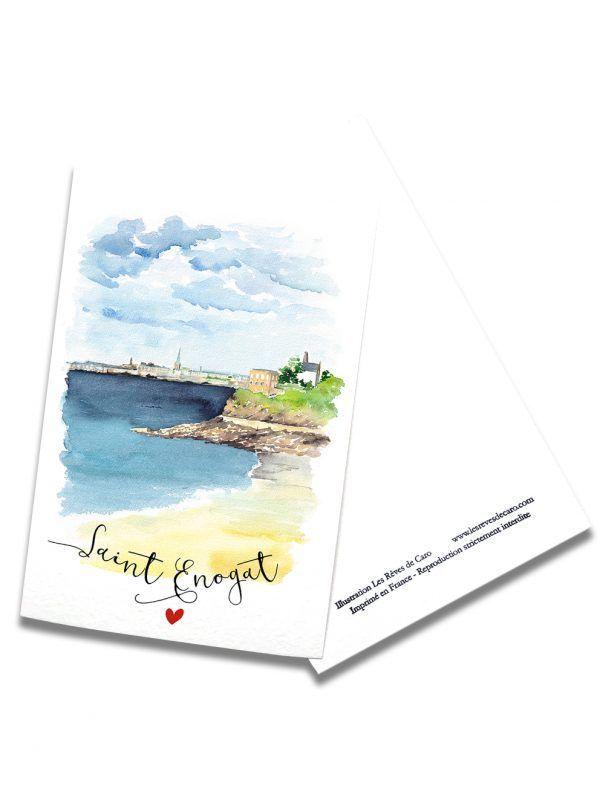 cartes-postales-saint-enogat-rectoverso-les-reves-de-caro