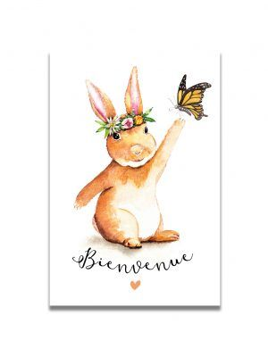 cartes-postales-lapin-bienvenue-les-reves-de-caro
