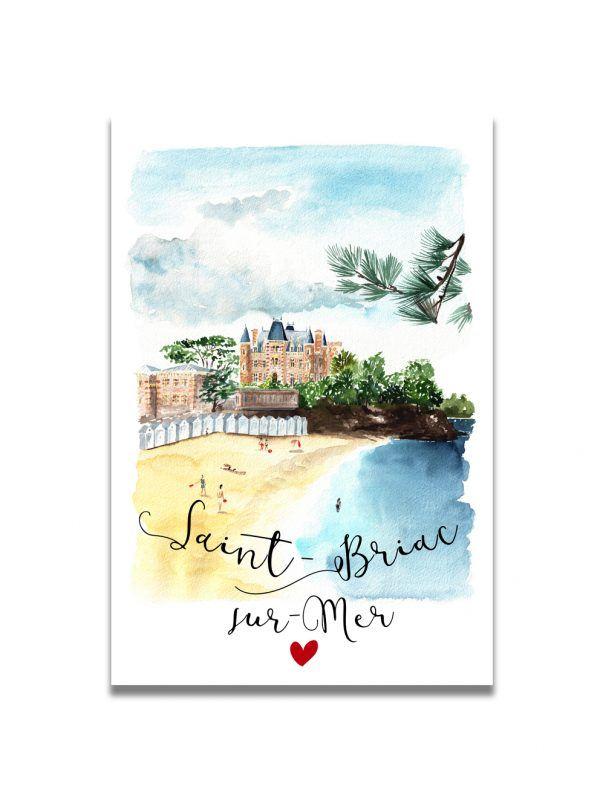 cartes-postales-saint-briac-les-reves-de-caro