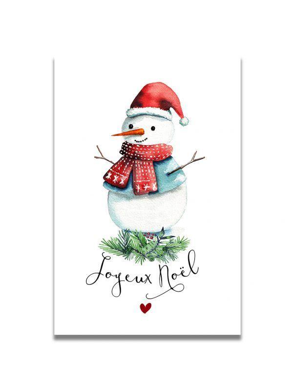 cartes-postales-bonhomme-neige-noel-les-reves-de-caro