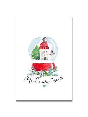 cartes-postales-boule-neige-noel-les-reves-de-caro
